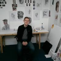 Winning the Jane Phillips Residency Award – Owain Sparnon